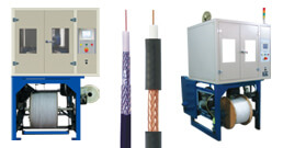 High Speed Vertical Cable and Tube Braiding Machines
