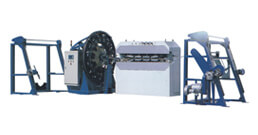 High Speed Horizontal Cable and Tube Braiding Machines